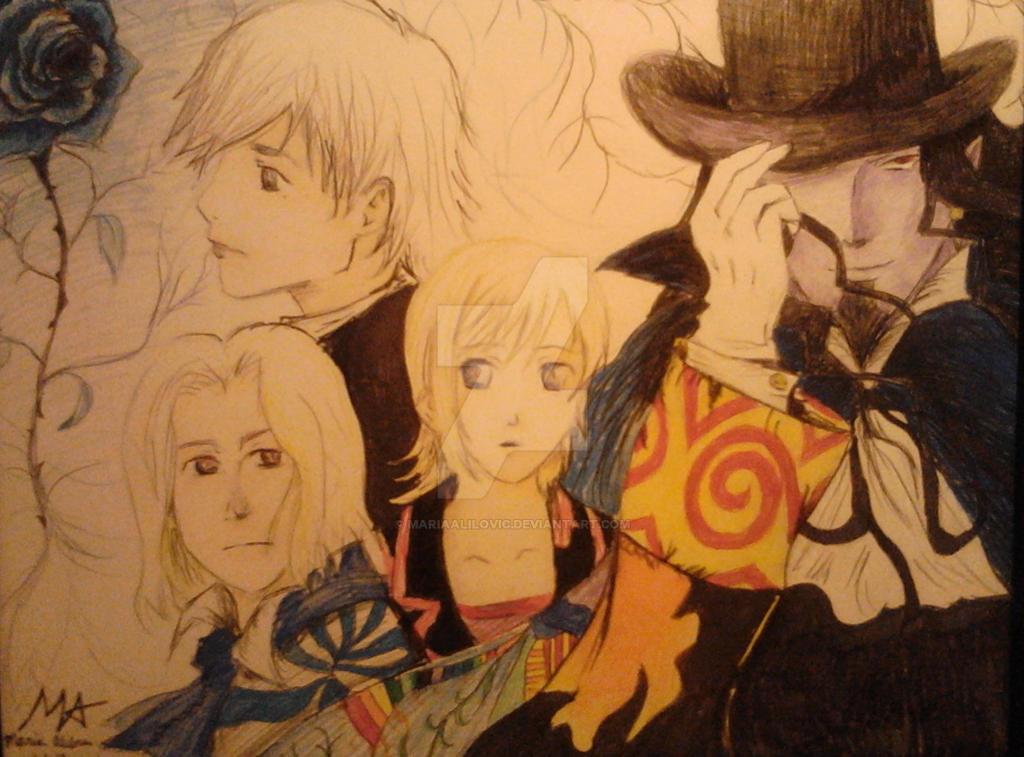 The Count Of Monte Cristo Anime Wallpaper