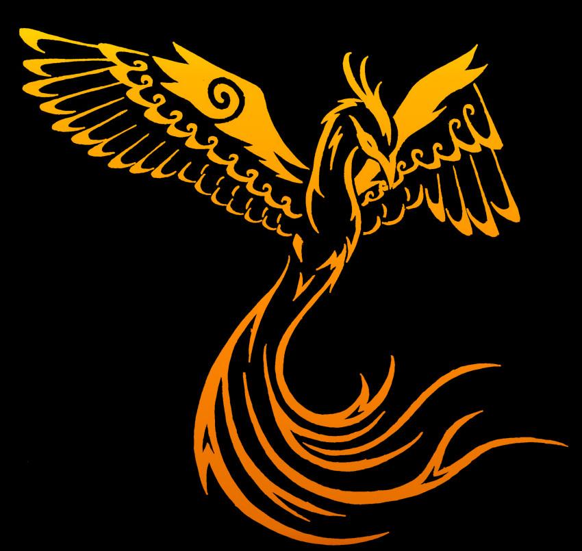 Tribal Phoenix Tattoo - Edited by ~BriBri-Chan on deviantART