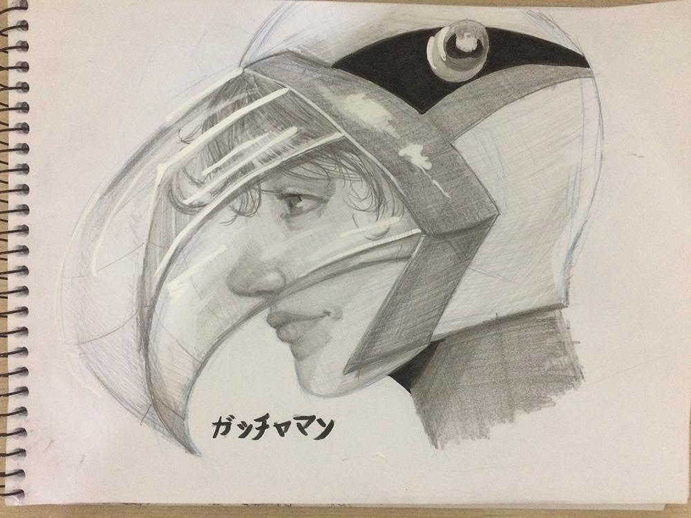 Ken Washio - Gatchaman by samfruc
