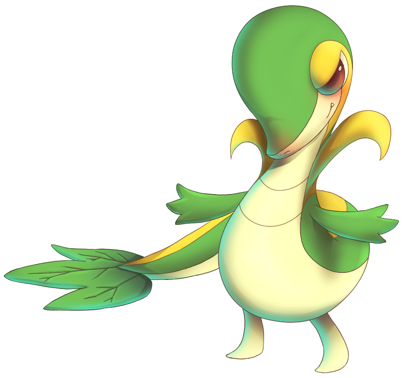 Snivy from Pokemon Black and White by MatsuoAmon on DeviantArt