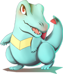 Totodile from Pokemon Gold and Silver