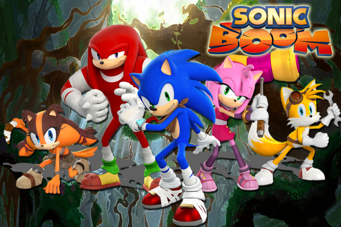Sonic Boom Sticks Wallpaper