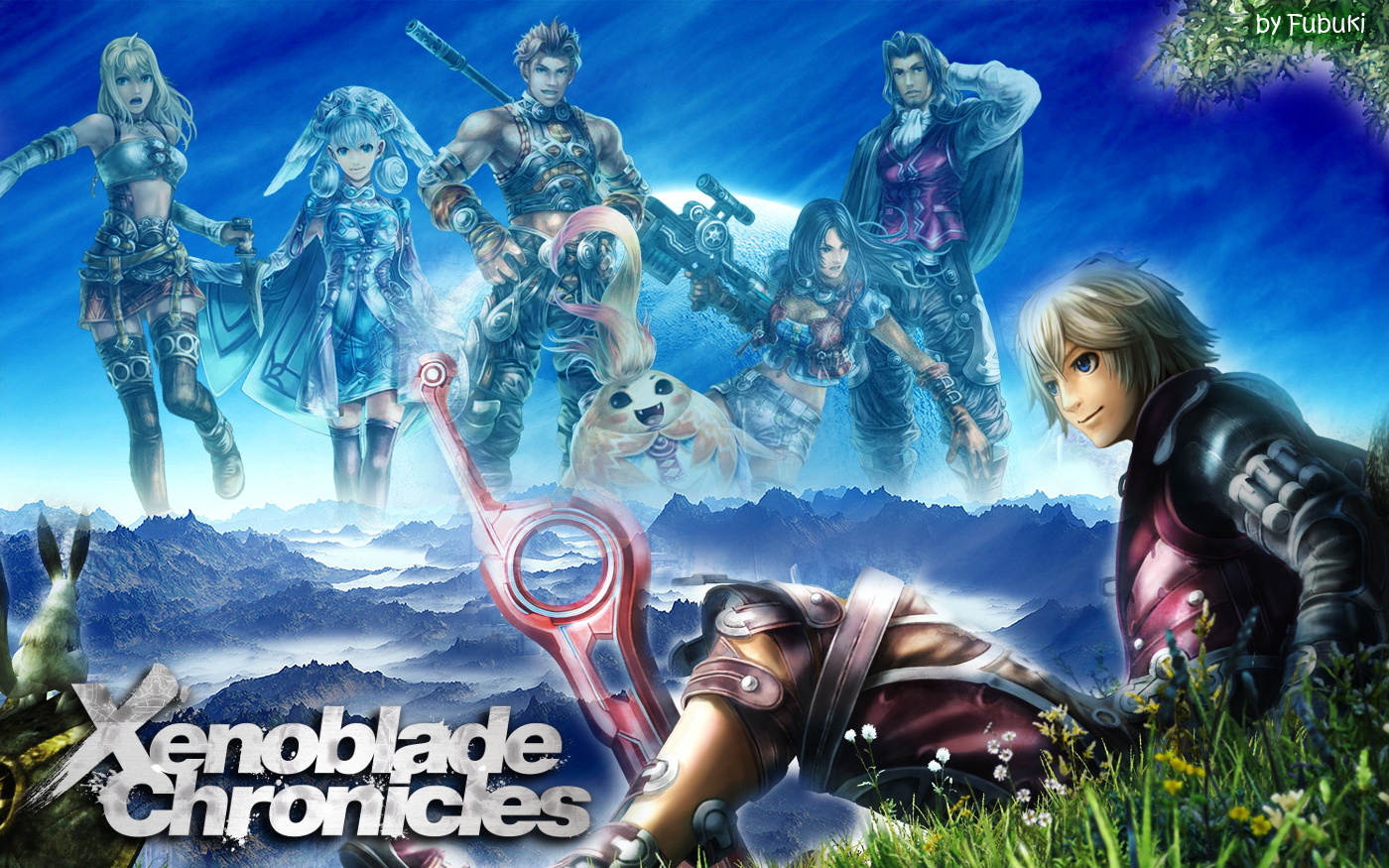 Wallpaper Xenoblade Chronicles By Legendqueen01 On Deviantart