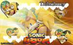 Wallpaper Tailsx Zooey :: Sonic Boom ::