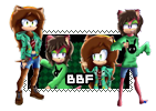 Commission Design (2/2) :: BBF Stamp :: by LegendQueen01