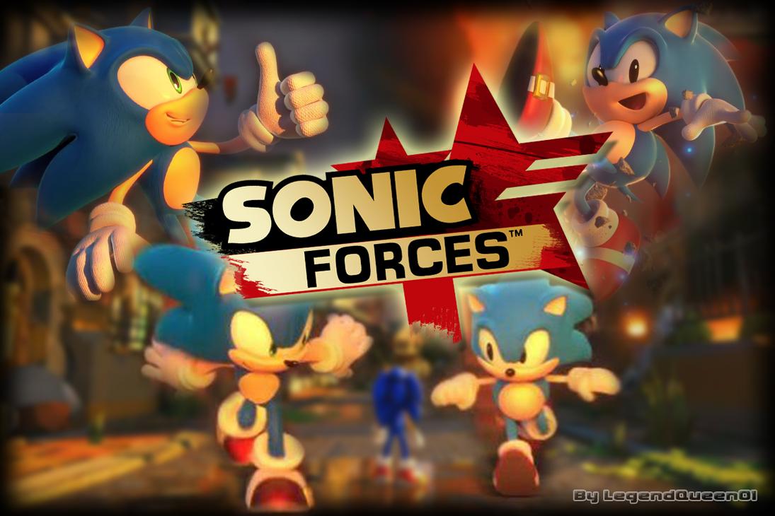 Wallpaper Sonic Forces by LegendQueen01 on DeviantArt
