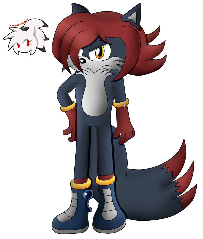 Commission Draw :: Rick -Ice- The Wolf by LegendQueen01
