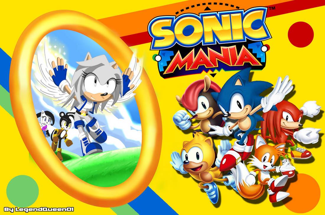 Comission Design Gray And Sonic Mania Wallpaper By