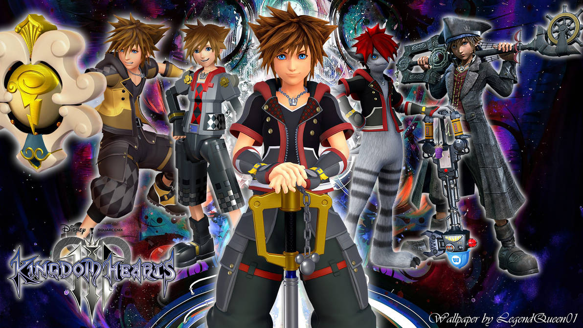 Wallpaper Sora Kingdom Hearts 3 By Legendqueen01 On Deviantart