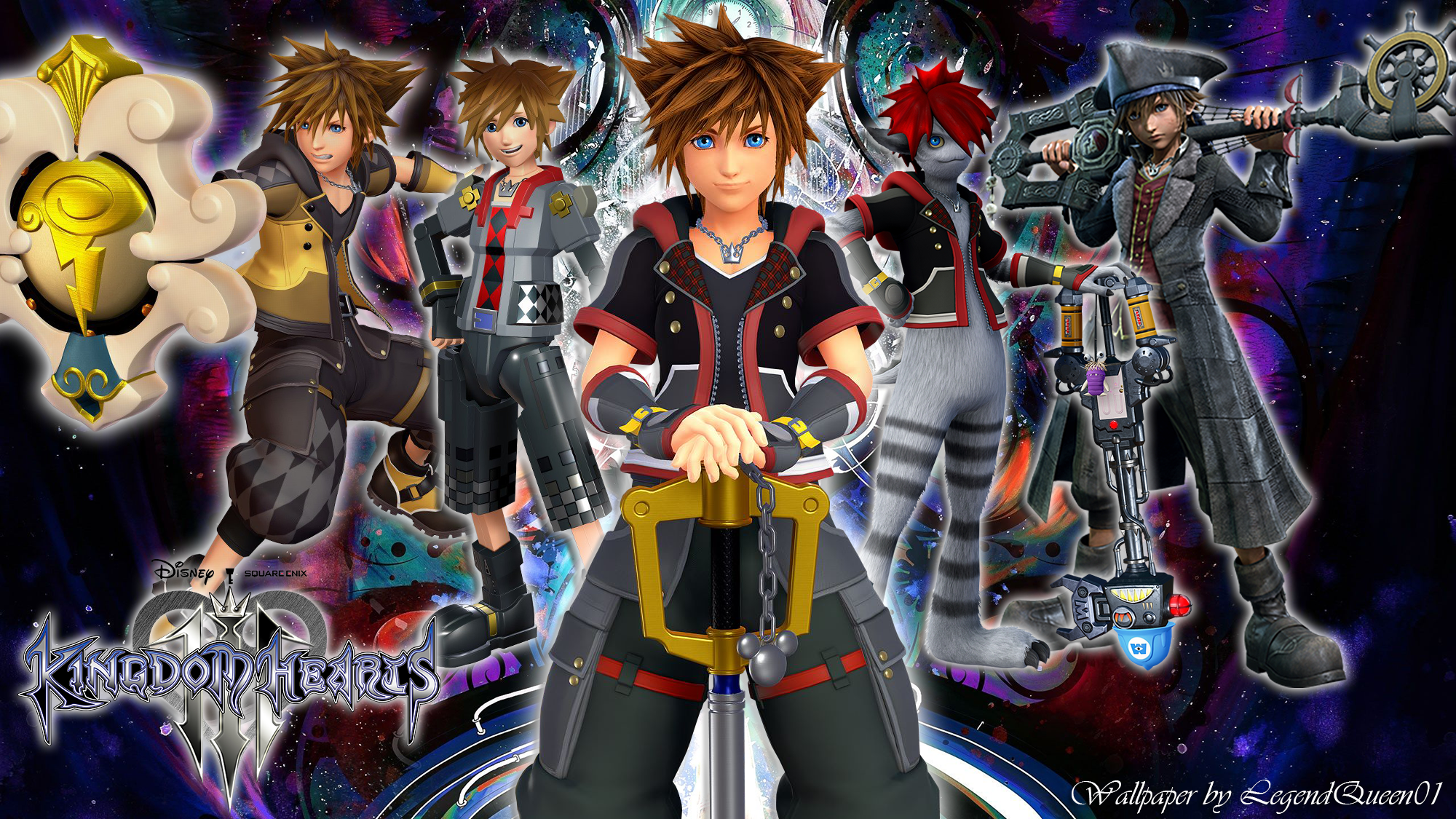 Wallpaper Sora Kingdom Hearts 3 by LegendQueen01 on DeviantArt
