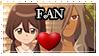 Haizaki x Akane Stamp Fan -Inazuma Eleven Ares- by LegendQueen01