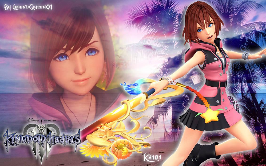 Wallpaper Kairi -Kingdom Hearts 3- by LegendQueen01 on ...