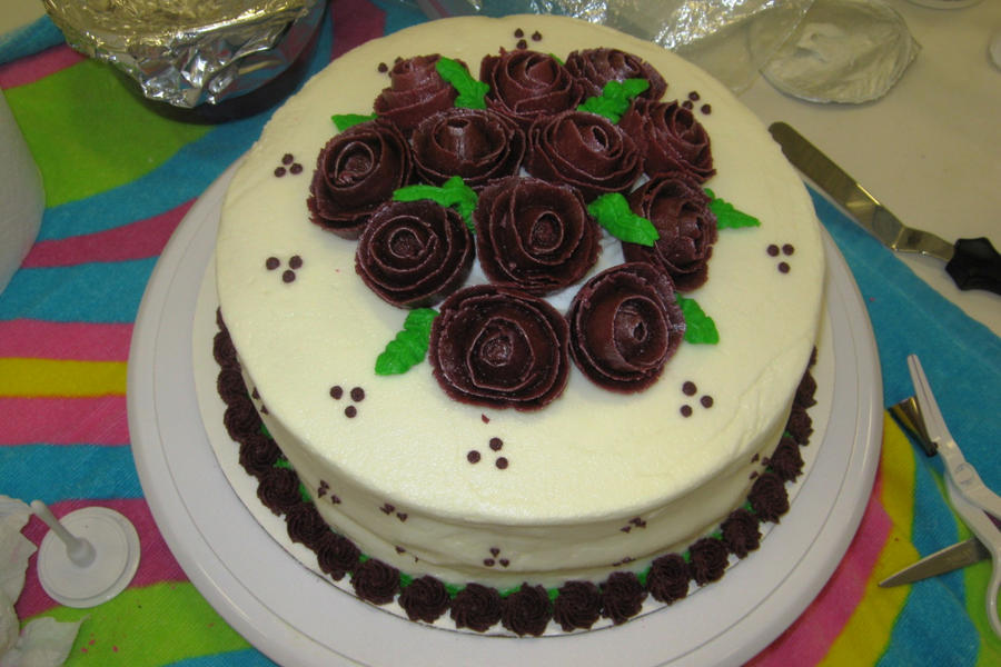 Cake decorating class 3 by jennfrog on deviantart for Art cake decoration