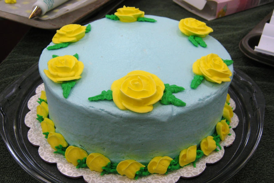 Cake Making Classes Lanarkshire : Cake Decorating Class 5 by Jennfrog on DeviantArt