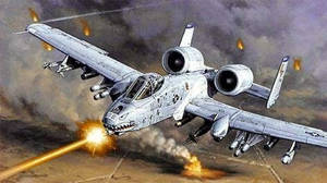 A-10 Warthog In Action