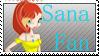 Comm: Sana Fan Stamp by becky0220