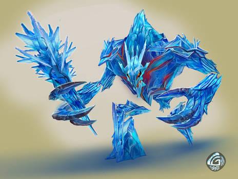 Golem Ice Isk