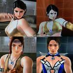 Tekken 6 and TT2 - face comparisson