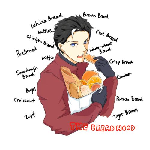 Jason the bread hood by TOUZOKU-NO-AKASHI