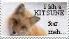 I ish a Kitsune stamp by WildTheory