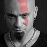 David Draiman is Kratos by WildTheory