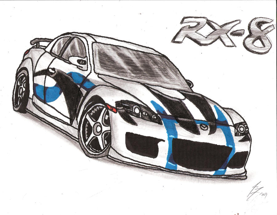 Mazda RX-8 Custom Paint by WildTheory on DeviantArt