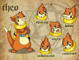 New Buizel Theo Reference by WildTheory