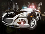 Most Wanted RX-8 POLICE