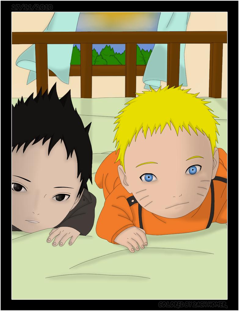 Baby Naruto + Baby Sasuke by LordSarito on DeviantArt