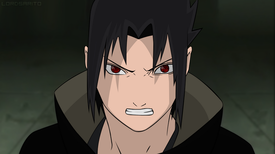 Sasuke angry by pikachurulesyou on DeviantArt