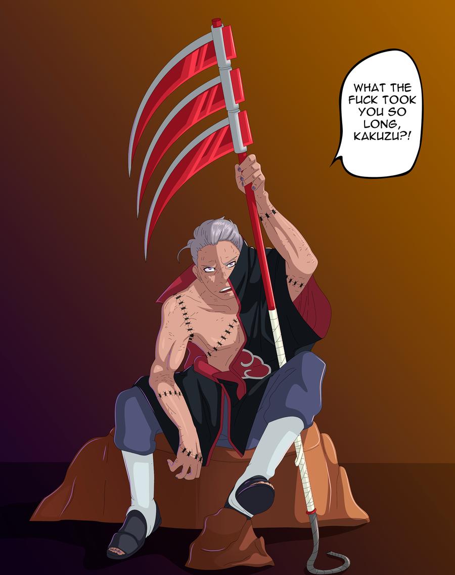 Naruto - The Return of Hidan by LordSarito