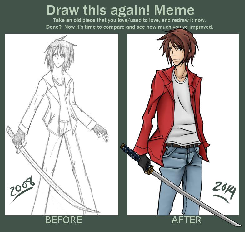 Draw This Again Meme!! LISER LEVENSTANG by Raixal