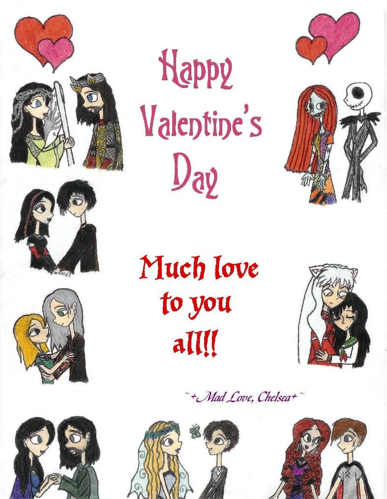 happy valentine s day by sonicbreezie4ever on deviantart