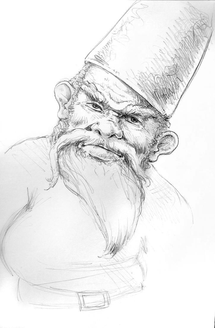 Slightly Perturbed Gnome by Dragonbreath1023