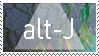 Alt-j fan Stamp by KatFoxyArtist