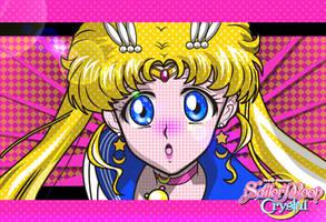 Sailor Moon Crystal by sammy8a