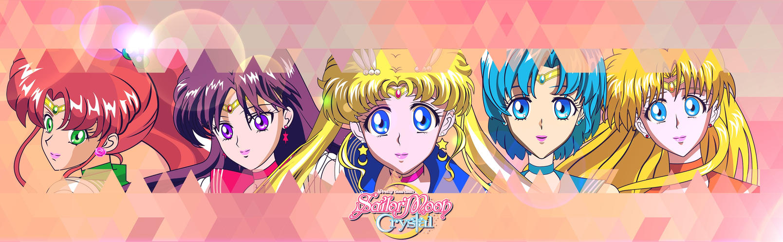 Sailor Moon Crystal Banner by sammy8a