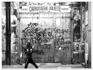 Dirty Street in Marseille