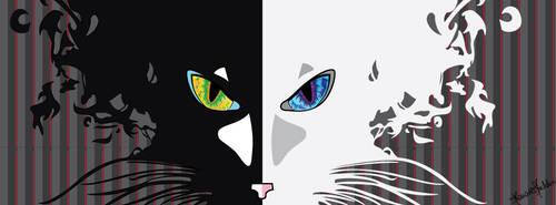 Cat by marybomfigli