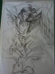 Angel by marybomfigli