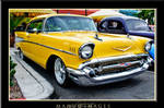 57 Chevy Yellow