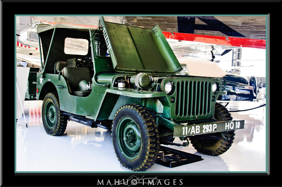 43 Ford GPW Military Jeep by mahu54