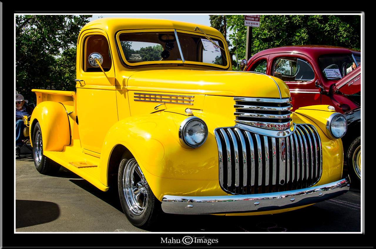 Pickup 41 chevy pickup : 41 Chevy Step Side Pick-Up by mahu54 on DeviantArt