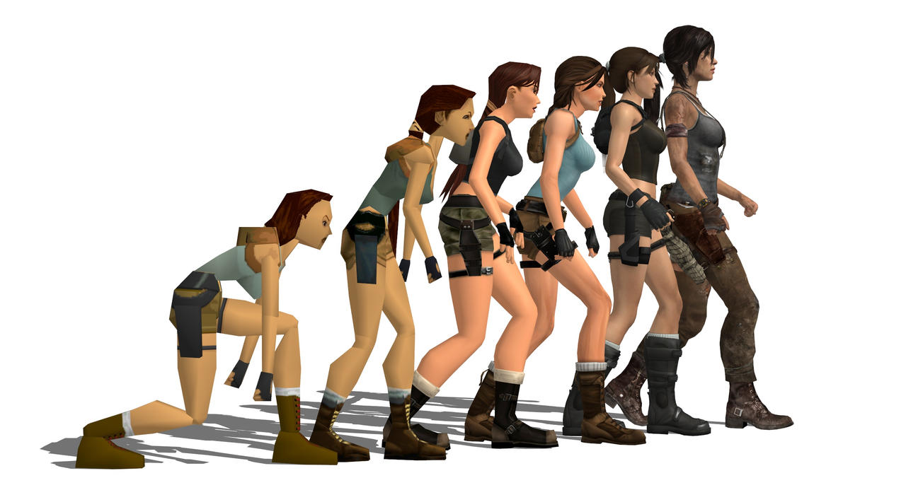 Tomb Raider Evolution by xeno55