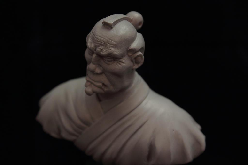 Top Knot Samurai by Sarkazum on DeviantArt