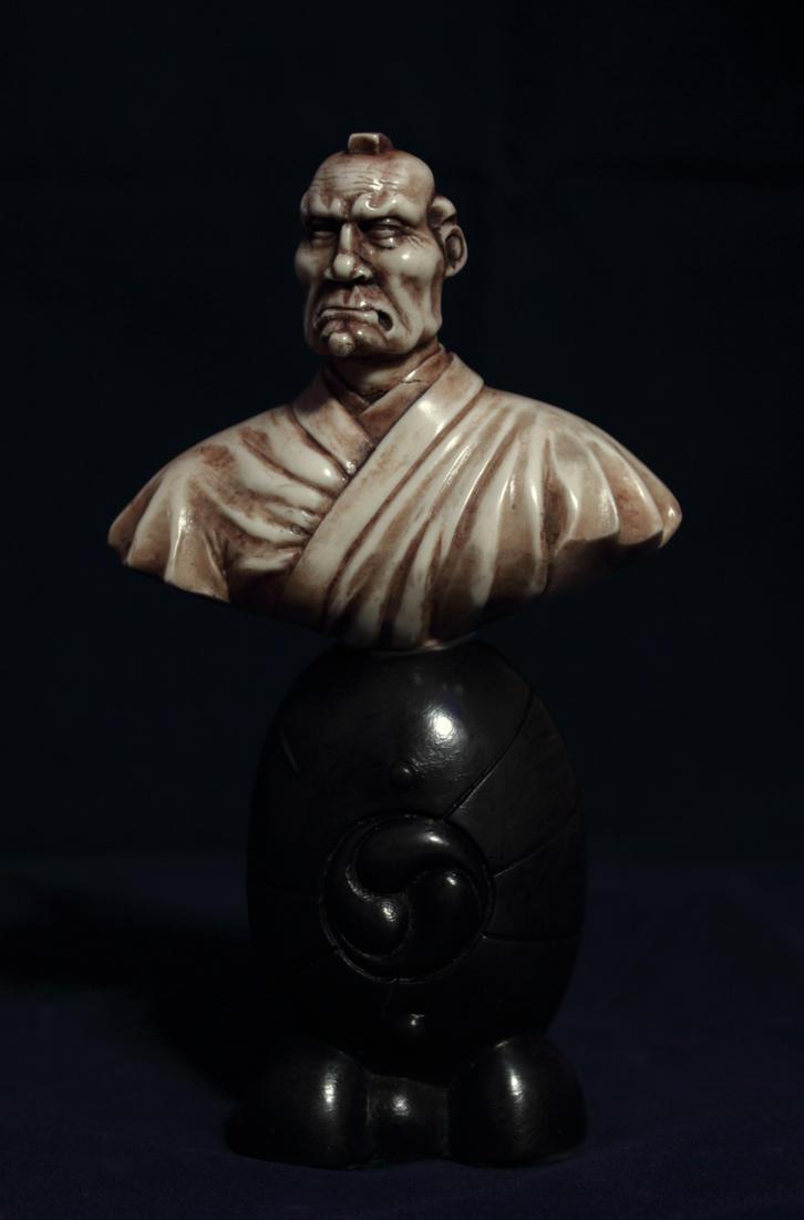 Topknot Samurai by Sarkazum on deviantART