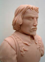 Pikeman in sculpey by Sarkazum