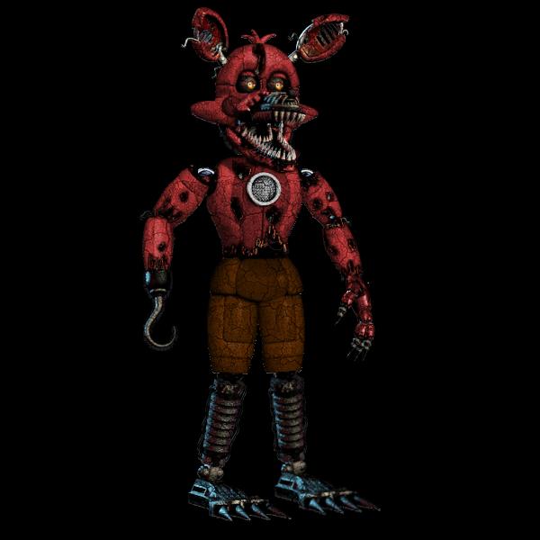 Funtime Nightmare Foxy By DerpyHorse4 On DeviantArt