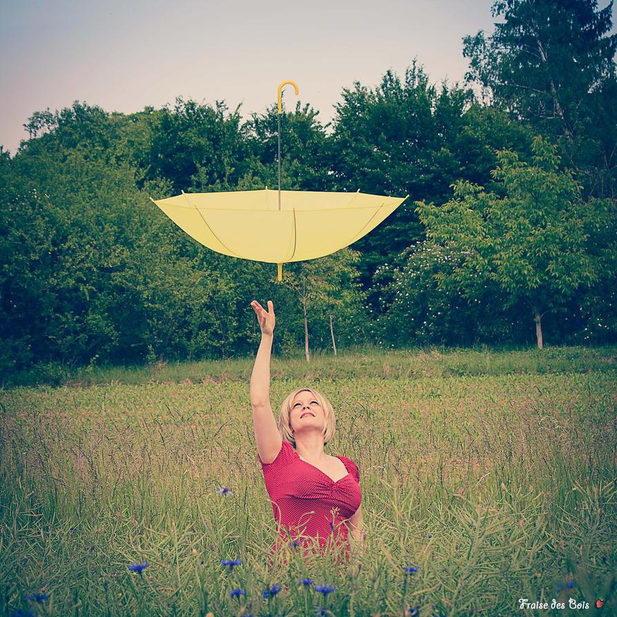 Le parapluie volant by fraisedesbois68