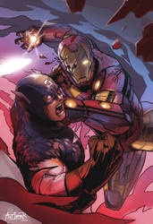 Captain America: Civil War (Tribute) by Art1derer
